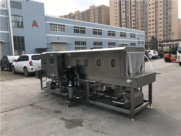 洗筐机清洗效果符合国家新出台的食品安全