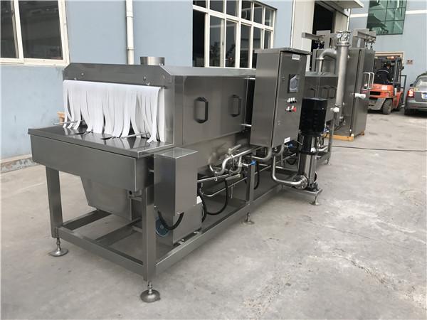 周转箱高温灭菌清洗机为餐饮配送保健康