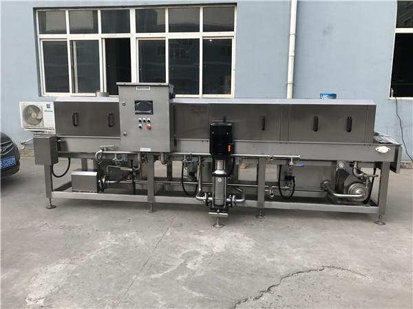 2016年食品机械行业汇总--隧道式洗箱机
