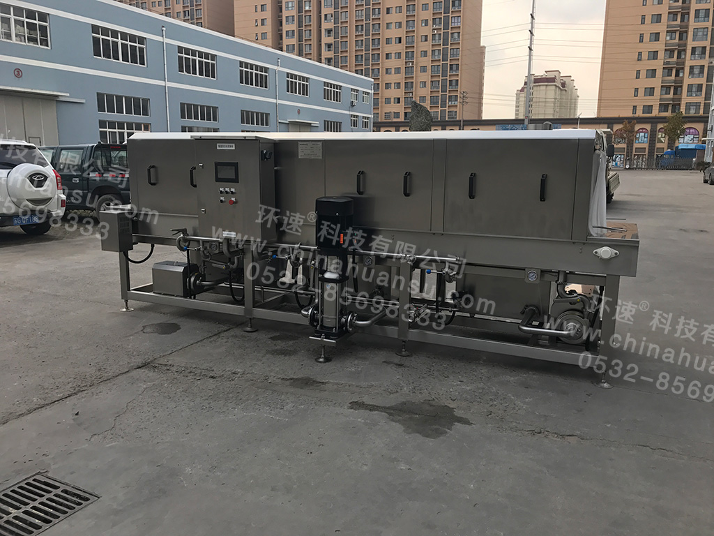 周转筐清洗机提高清洗效率降低清洗成本 提升卫生安全