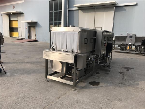 周转筐清洗机,适用于各种尺寸的筐子
